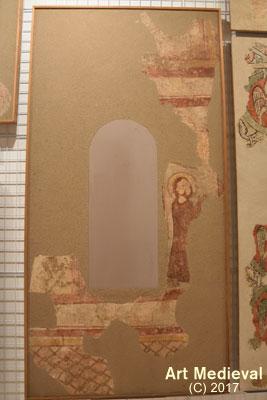 Fragment de pintura conservada en el MEV