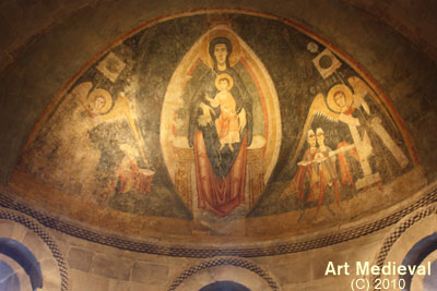 Absis i pintures conservades en The Cloisters