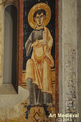 Pintures conservades al MNAC: Sant Joan Evangelista?